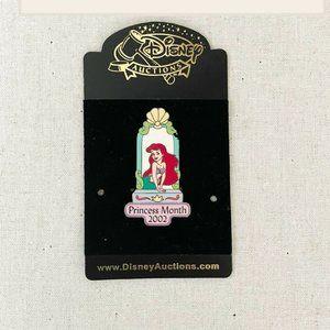 ✨ NWT Limited Edition 100 Ariel Princess Month Pin   Disney